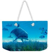 Dolphin Pod Weekender Tote Bag