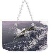 Runnin' Dolphin  Weekender Tote Bag