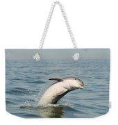 Dolphin Splash Weekender Tote Bag