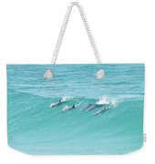 Dolphin Team Weekender Tote Bag
