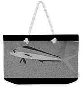 Dolphinfish In Grayscale Weekender Tote Bag