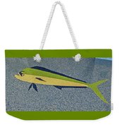 Dolphinfish Inlay On Alabama Welcome Center Floor Weekender Tote Bag