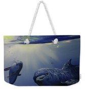 Dolphins Underwater Game Weekender Tote Bag