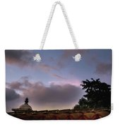 Dome And Clouds - Guatemala Iv Weekender Tote Bag