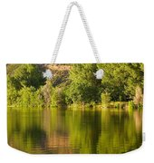 Dome Lake Sunset Weekender Tote Bag