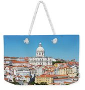 Dome Of Gothic Church In Lisbon Weekender Tote Bag