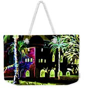 Dome Of The Rock At Night Weekender Tote Bag
