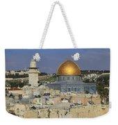 Dome Of The Rock Jerusalem Israel Weekender Tote Bag