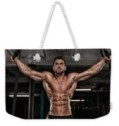 Dominant Testo Review Boost Your Testosterone Level Weekender Tote Bag