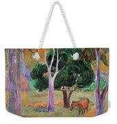 Dominican Landscape Weekender Tote Bag by Paul Gauguin