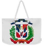 Dominican Republic Coat Of Arms Weekender Tote Bag