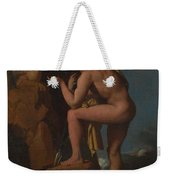 Dominique Ingres   Oedipus And The Sphinx Weekender Tote Bag