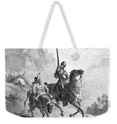 Don Quixote And Sancho Weekender Tote Bag by Granger