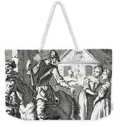 Don Quixote And Sancho Panza By William Weekender Tote Bag