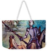 Don Quixote With Dragon Weekender Tote Bag