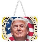 Donald Trump Us President United States Seal  Weekender Tote Bag