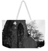Donegal Abbey Ruins Donegal Ireland Weekender Tote Bag
