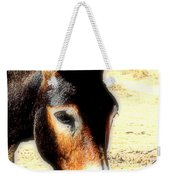 A Donkey Doesn't Need A Rider To Be Happy   Weekender Tote Bag