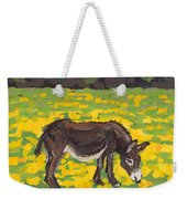 Donkey And Buttercup Field Weekender Tote Bag