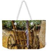 Donkey Cart Weekender Tote Bag