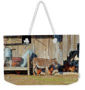 Donkey Goat And Chickens Weekender Tote Bag
