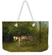 Donkey With Cart Weekender Tote Bag