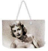 Donna Reed, Vintage Actress By John Springfield Weekender Tote Bag