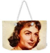 Donna Reed, Vintage Hollywood Actress Weekender Tote Bag