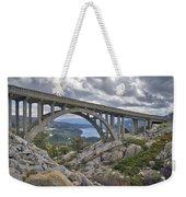 Donner Memorial Bridge Weekender Tote Bag