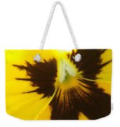 Don't Be A Pansy Weekender Tote Bag