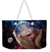 Don't Cry Little Earth Weekender Tote Bag