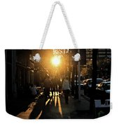 Dont Go Into The Light Weekender Tote Bag