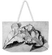 Don't Leaf Me Weekender Tote Bag