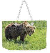 Don't Mess With Mama Bear Weekender Tote Bag by Belinda Greb