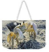 Don't Mess With The Crab Weekender Tote Bag