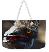Dont Mess With The Emu Weekender Tote Bag