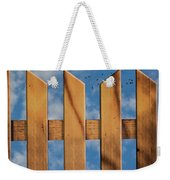 Don't Take A Fence Weekender Tote Bag