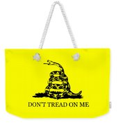 Don't Tread On Me Flag Weekender Tote Bag