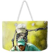 Dont Trust Your Caddie Weekender Tote Bag