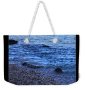 Don't Wait For Your Ship To Come In, Swim Out To It Weekender Tote Bag