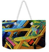 Dont Worry Be Happy Weekender Tote Bag