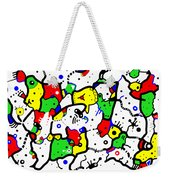 Doodle Abstract Weekender Tote Bag