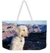 Doodle On Grand Canyon Rim Weekender Tote Bag