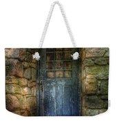 Door - A Rather Old Door Leading To Somewhere Weekender Tote Bag