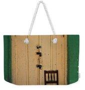 Door And Chair Weekender Tote Bag