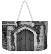 Door At St. Johns In Tralee Ireland Weekender Tote Bag