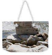 Door County Cairn Weekender Tote Bag
