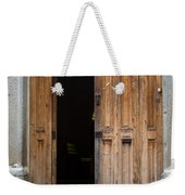 Door Entrance To Church In Guatemala Weekender Tote Bag