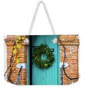 Door With Holiday Reef Weekender Tote Bag