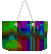 Doors In Green Weekender Tote Bag